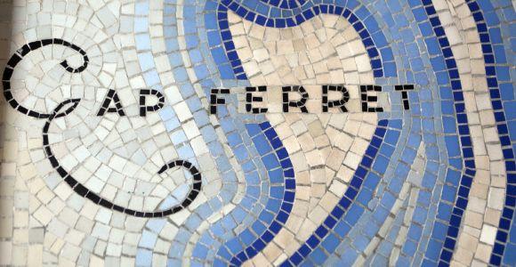 Le Phare du Cap Ferret, exposition Horizons Voyageurs, la galerie basse, mosaïque du bassin d'Arcachon, Cap Ferret