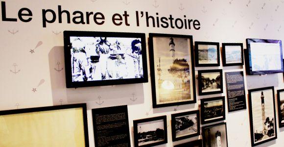 Le Phare du Cap Ferret, la scénographie, salle sur l'histoire des Phares